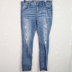 American Eagle | Super Stretch Distressed Jeans